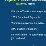 We are Hiring - Earn Rs.15000/- Per month - Simple Copy Past